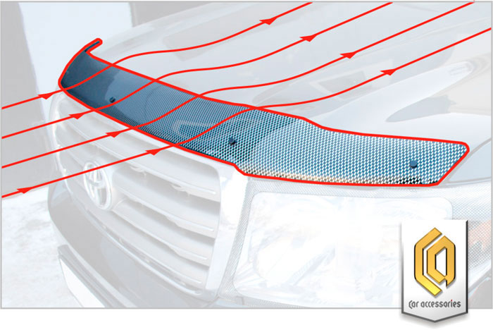 дефлектор капота производства СА-пластик